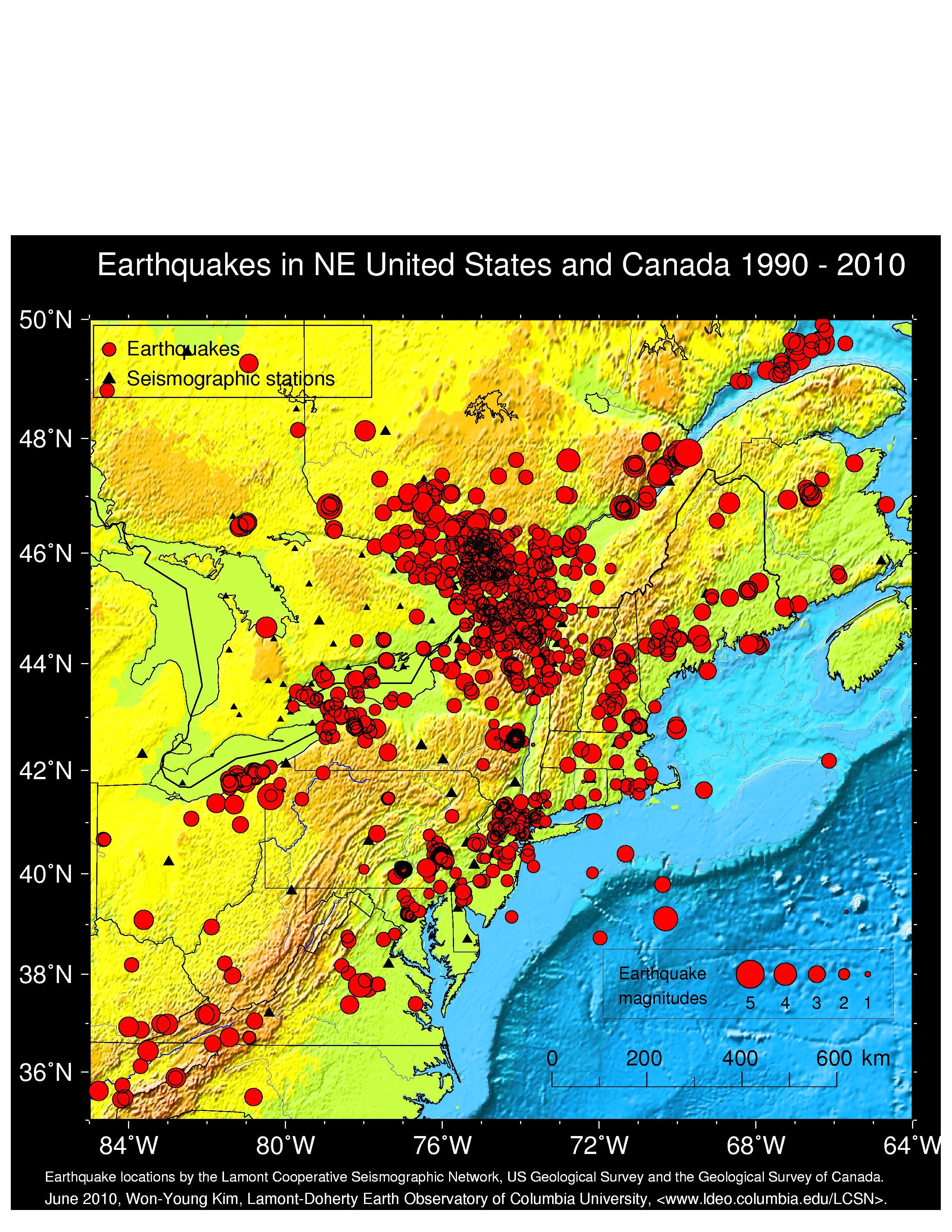 LamontDoherty Cooperative Seismographic Network