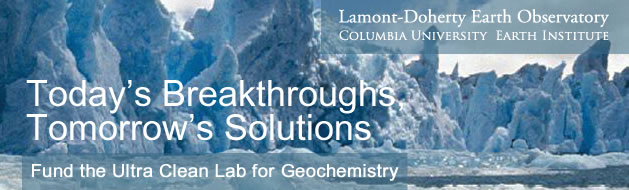 Today's Breakthroughs, Tomorrow's Solutions. Fund the Ultra Clean Lab for Geochemistry.