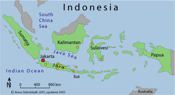 a study on the indonesia archipelago In italian, possibly following a tradition of antiquity, the archipelago (from medieval greek indonesia, japan, taiwan, the philippines, new zealand.