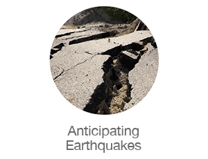 anticipating earthquakes