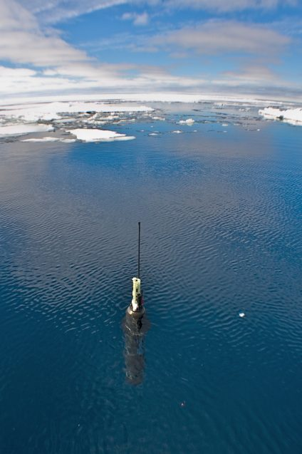 Researchers report a sharp drop in salinity in the North Atlantic Ocean over the last decade, providing the most detailed look yet at changing ocean conditions in the region. (Courtesy of Argo project)