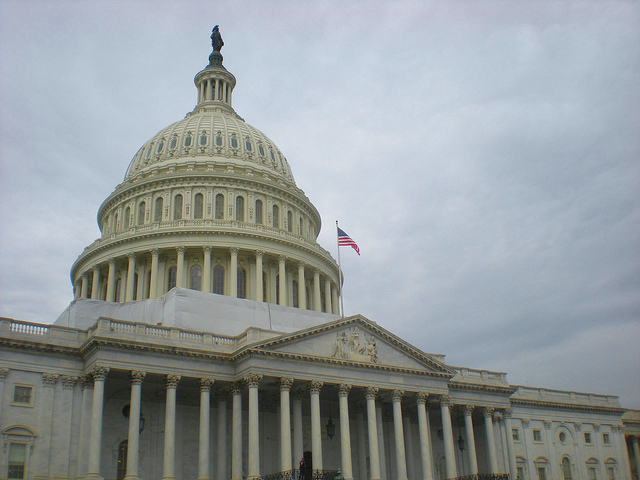 U.S. Capitol Building Photo: Kathrin Tausch via Wikimedia Commons