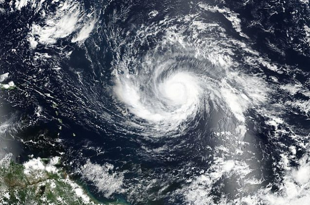 Hurricane Irma, as seen on September 3, 2017. Photo: NASA