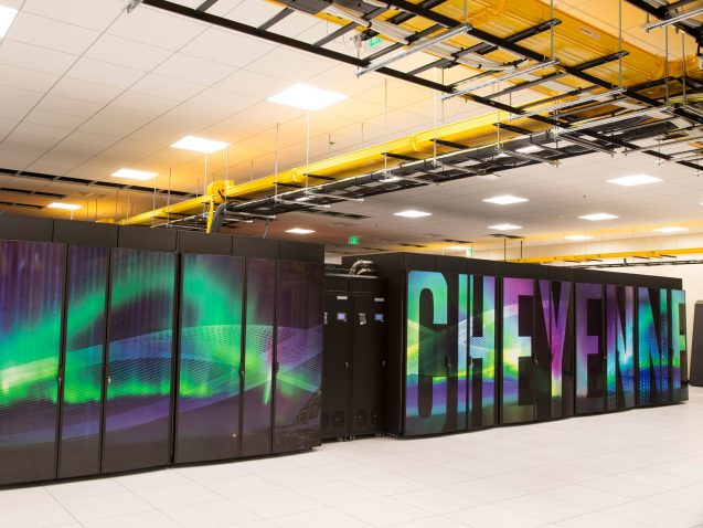 Pangeo tools will be deployed and tested on NCAR's Cheyenne supercomputer. Photo: National Center for Atmospheric Research