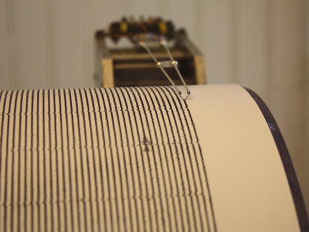 Seismometers often record vibrations from storms. A new study shows it's possible to use those small blips to learn a hurricane's intensity. Photo: Ray Bouknight via Flickr