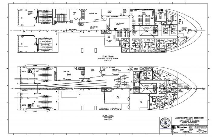 Layout Diagrams | Lamont-Doherty Earth Observatory on spaceship interior schematics, frigate schematics, yacht schematics, motorcycle schematics, aircraft carrier schematics, computer schematics, cruise the gem, cruise ships under water, baseball schematics, retail schematics, bicycle schematics, carnival magic schematics, excavator schematics,