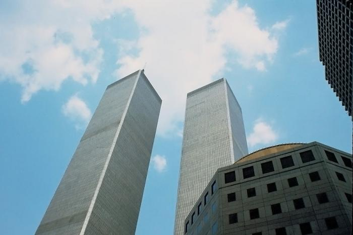 The Original World Trade Center Towers Wikimedia CC SA 40