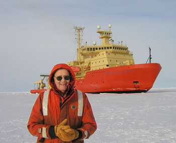 In 2003, Arnold Gordon led an oceanographic expedition to Antarctica's Ross Sea.