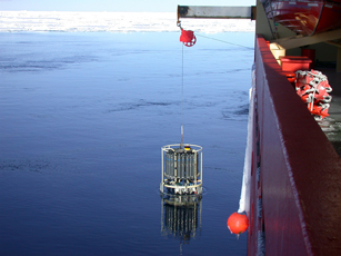 Pressure, temperature and salinity measurements from the Southern Ocean helped the researcher calculate density gradients