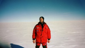 Lambert has traveled to Antarctica to extract ice cores that contain a record of dust and climate fluctuations in the past. (Patrik Kaufmann)
