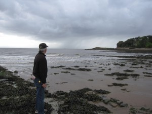 Along the coast Wales, ancient rocks may hold clues to the cause of a global extinction that helped spur the evolution of dinosaurs.