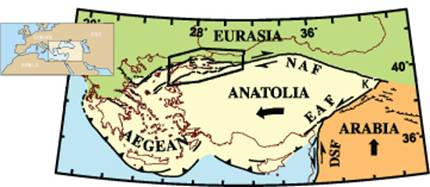 The North Anatolian Fault | Lamont-Doherty Earth Observatory