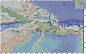 The Northern Caribbean has been hit by many quakes greater than magnitude 5 since 1964.