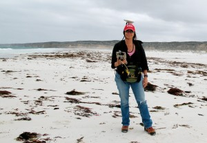 In 2010, Maureen Raymo traveled to Western Australia's Roe Plain to survey the elevation of shoreline features and sediments as old as 3 million years.