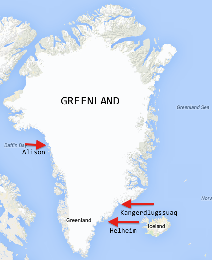 Leveraging Local Knowledge to Measure Greenland Fjords Lamont