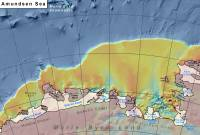 Amunden Sea bathymetry