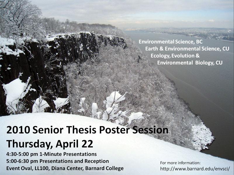 senior thesis poster