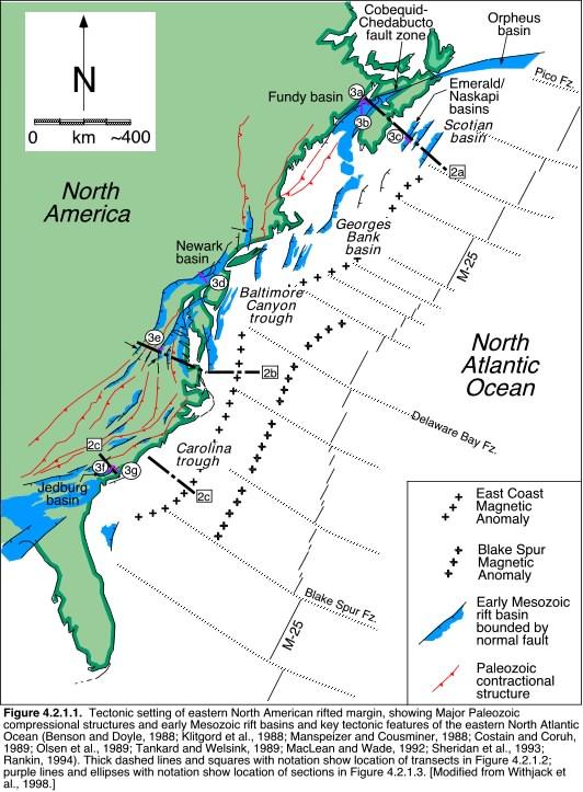 Basin Evolution Supercontinent Breakup - Fault lines in georgia